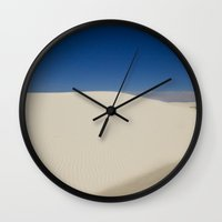 dune Wall Clocks featuring Dune by Ross Bell