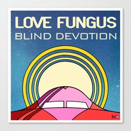Blind Devotion Canvas Print