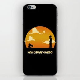 My Hero Sunset iPhone Skin