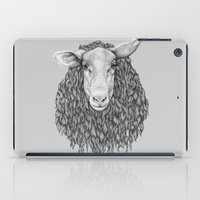 sheep iPad Cases featuring Sheep by Thea Nordal