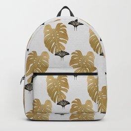 Botanical, Butterfly & Monstera Backpack
