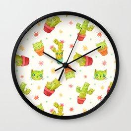 Catcus Wall Clock