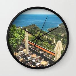 Idyllic moments Wall Clock