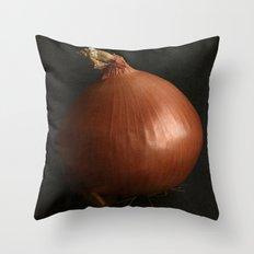 Giant Onion Throw Pillow