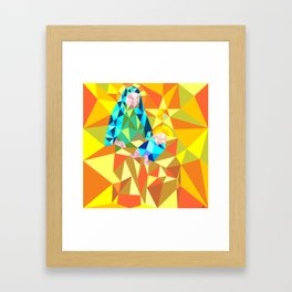 The Manger III Framed Art Print