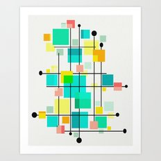 Eames Love Mid Century Art Print