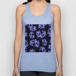Floral background Unisex Tank Top