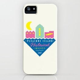 Pleasure Island Histerical Society iPhone Case