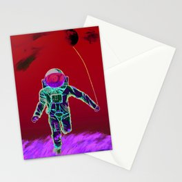 The Astro Runner  Stationery Cards