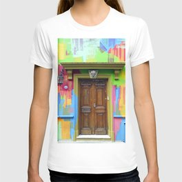 Painted Entrance, Palermo, Buenos Aires T-shirt
