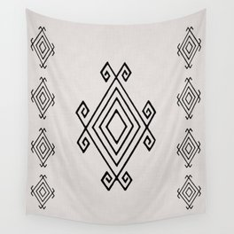 Primitive Design Wall Tapestry