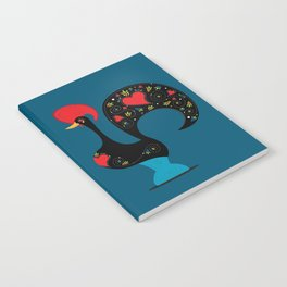 Good Luck Rooster of Barcelos Notebook
