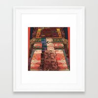 navajo Framed Art Prints featuring Navajo by Jose Luis
