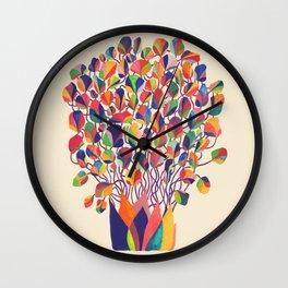 felicitous Wall Clock