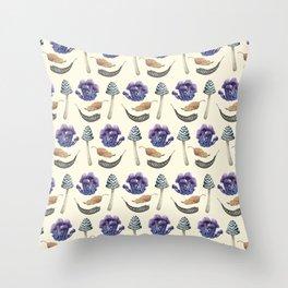 Sweet Botanicals 3 Throw Pillow