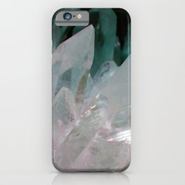 Crystal Quartz iPhone Case