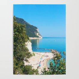 Spiaggia San Michele Poster