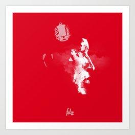 Hugo Chavez Art Print