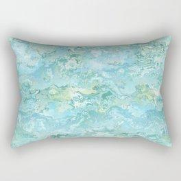 Texture nature garmonia sea 7 Rectangular Pillow
