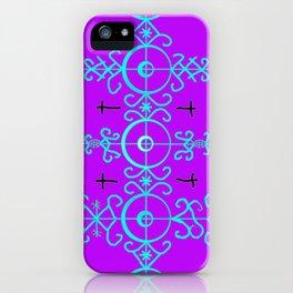 Voodoo Symbol Marassa Jumeaux iPhone Case