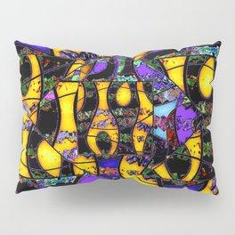 Dance in gold Pillow Sham