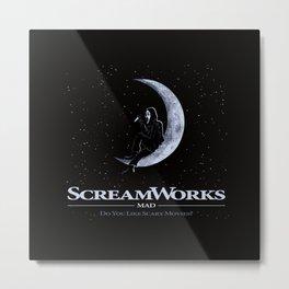 Scareworks Metal Print