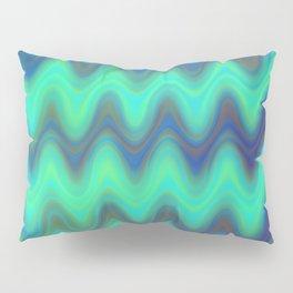 Agate Wave Blue - Mineral Series 001 Pillow Sham