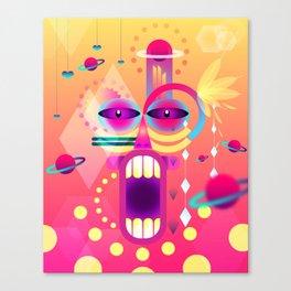 Apache Canvas Print