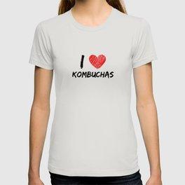 I Love Kombuchas T-shirt