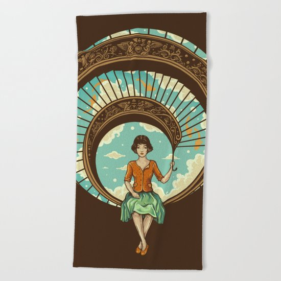 Welcome to My World Beach Towel