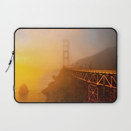 Golden Gate Sunrise Laptop Sleeve