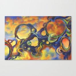 Bullet Holes Canvas Print