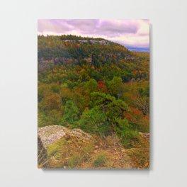 Minnewaska Park in Autumn Metal Print