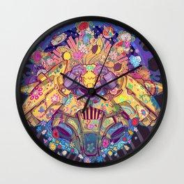 Infinite sun Wall Clock