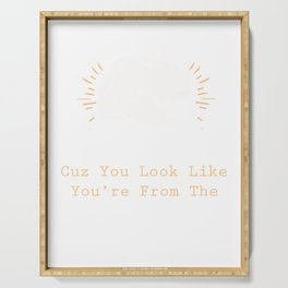Curvaceous Bad Pick Up Lines  Graphic Serving Tray