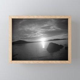 Maine series Framed Mini Art Print