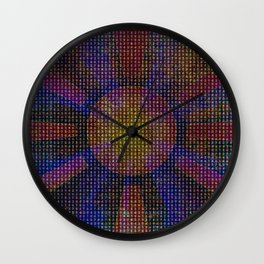 Surya Invocation (Sun) - Magick Square Yantra Tantra Wall Clock