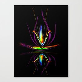 Flowermagic - Light and energy 10 Canvas Print