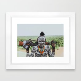 Karo Tribe V Framed Art Print