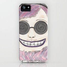 Cheshire cat as a human iPhone Case