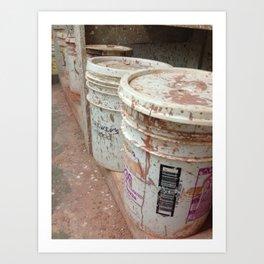Cans... Art Print