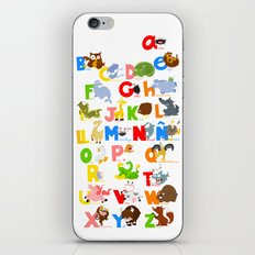 ABC (spanish) iPhone & iPod Skin