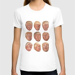 Faces Of Donald Trump T-shirt