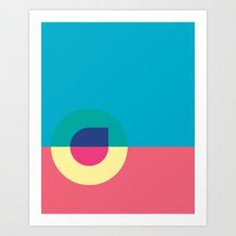 Cacho Shapes LXXIII Art Print