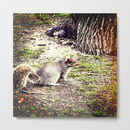 Who's The Stranger Metal Print