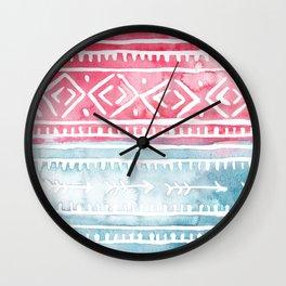 Tribal2 Wall Clock