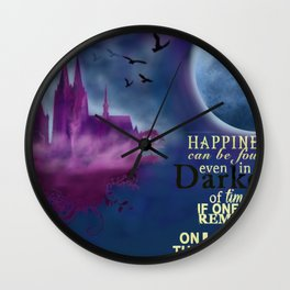 Cologne Illustration Wall Clock