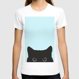 Black cat I T-Shirt