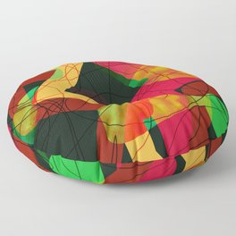 Bowling Alley Floor Pillow