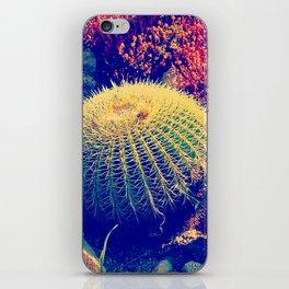 Vintage pop garden succulent and cactus iPhone Skin